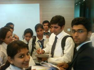 Teaching Tips: Avdhesh Tondak with RIT, Roorkee Students, 4th November 2011